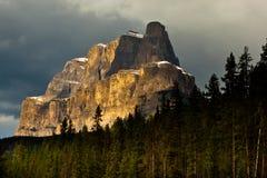 De Berg van het kasteel stock fotografie
