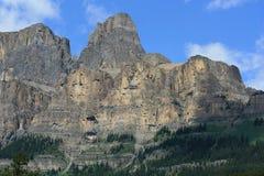 De Berg van het kasteel in Nationaal Park Banff royalty-vrije stock afbeelding
