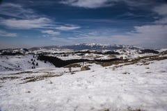 De berg van het landschap Stock Foto