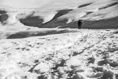 De berg van het landschap Stock Foto's