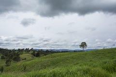 De berg van het landschap Royalty-vrije Stock Afbeelding