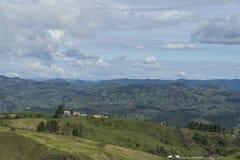 De berg van het landschap Royalty-vrije Stock Afbeeldingen