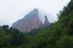 De berg van het Noorden Wudang stock afbeelding