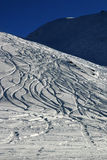 De Berg van het poeder stock afbeelding