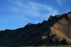 De berg van het zand Stock Afbeeldingen