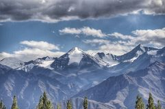 De berg van Himalayagebergte Royalty-vrije Stock Foto