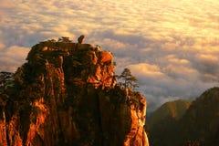 De berg van Huangshan in China Royalty-vrije Stock Foto's