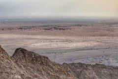 De berg van Jebelhafeet stock fotografie