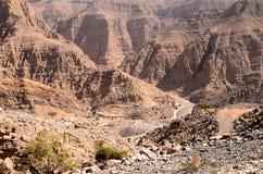 De Berg van Jebeljais royalty-vrije stock fotografie