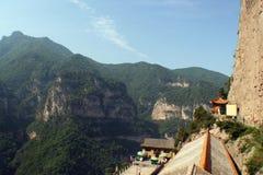 De berg van Jiexiumian stock foto's