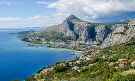 De berg van Kroatië Royalty-vrije Stock Foto's