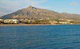 De berg van La Concha Royalty-vrije Stock Foto's