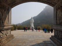 De berg van Laoshan Stock Afbeeldingen