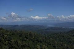 De berg van leren riempha Phum Stock Afbeelding