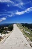 De berg van Lovcen Stock Foto's