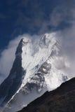 De berg van Machhapuchhre in Nepal Stock Fotografie