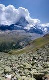 De berg van Matterhorn royalty-vrije stock afbeelding