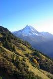 De berg van Oberalpstock royalty-vrije stock foto