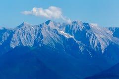 De berg van Olympus in Griekenland stock afbeeldingen