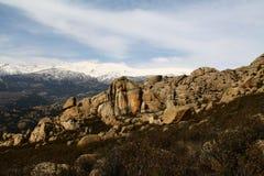 De berg van Pedrisa Stock Afbeelding