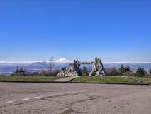 De Berg van Pyatigorskmashuk stock foto's