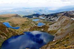 De Berg van Rila, Bulgarije stock foto's