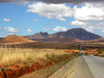 De berg van Shapphire stock afbeeldingen
