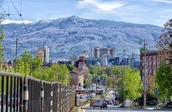 De berg van Sofia en Vitosha stock afbeelding