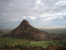 De berg van Spitzkoppe Stock Foto