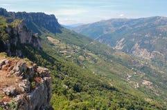 De Berg van Tisiddu stock afbeeldingen