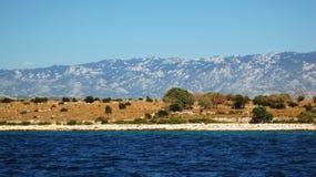 De berg van Velebit Royalty-vrije Stock Fotografie