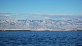 De berg van Velebit Royalty-vrije Stock Afbeelding