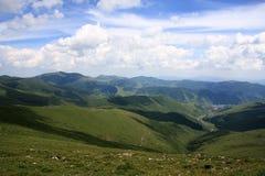 De berg van Wutai Royalty-vrije Stock Fotografie