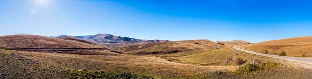 De Berg Zlatibor van het landschapspanorama in Servië Royalty-vrije Stock Afbeeldingen