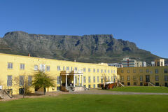 De Berg Zuid-Afrika van de lijst Stock Afbeelding