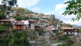 De bergdorp van Cyprus Stock Afbeeldingen