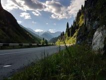 In de bergen Stock Fotografie