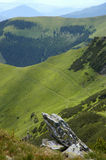 In de bergen Royalty-vrije Stock Afbeelding