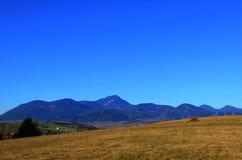 De bergen royalty-vrije stock foto