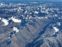 De bergen in de provincie China van Sichuan Royalty-vrije Stock Afbeeldingen