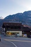 De bergen en de valleien Royalty-vrije Stock Foto's