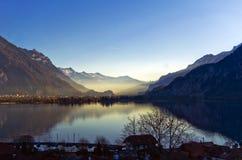 De bergen en de valleien Royalty-vrije Stock Afbeeldingen