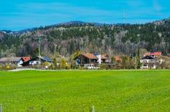 De bergen en de valleien Royalty-vrije Stock Foto