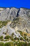 De bergen en de valleien Royalty-vrije Stock Afbeelding