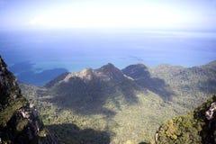 De Bergen en het Overzees van het Eiland van Langkawi Royalty-vrije Stock Afbeeldingen