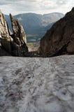 De bergen Khibiny Royalty-vrije Stock Afbeeldingen