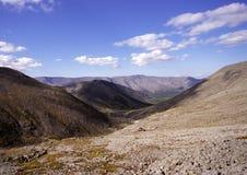 De bergen Khibiny royalty-vrije stock afbeelding