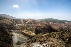 De bergen Marokko van de atlas stock fotografie