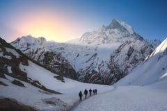 De bergen roepen Stock Fotografie