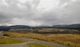 De bergen in Schotland Stock Afbeelding